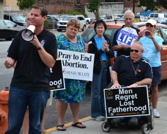 40 Days for Life Coucil Bluffs Kick Off Event